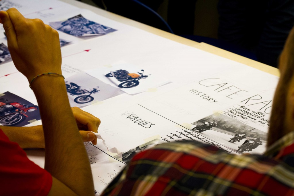 Cafe racer then and now ied istituto europeo di design for Studiare design a milano