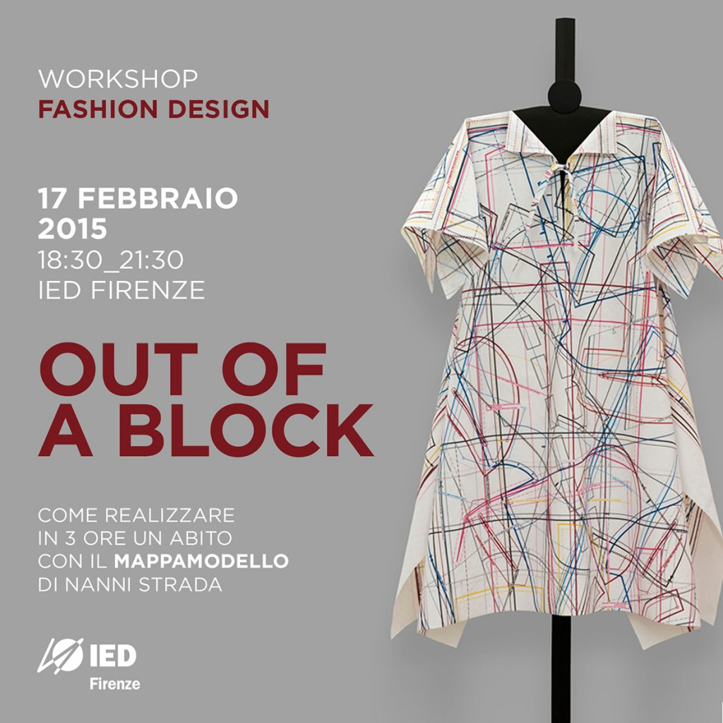 Out of a block ied istituto europeo di design for Studiare design a milano