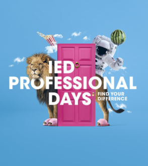 PROFESSIONAL DAYS - WORKSHOP GRATUITI IN TUTTE LE SEDI IED