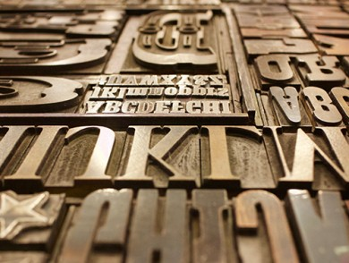 Typography and Calligraphy – The Font Design