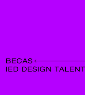 Becas IED Design Talent 19'