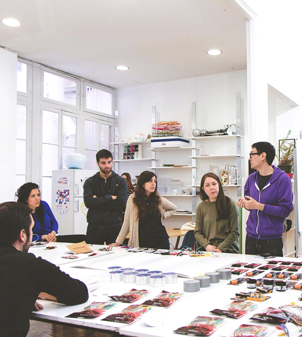 Master of European Design Labs y del Master of Product - IED Madrid