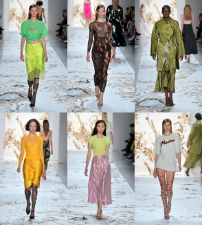 Prisca Franchetti, Fashion Design alumni, presents her SS18 collection at New York Fashion Week