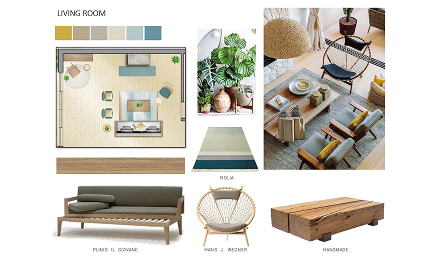 interior design academic year fall intake one year courses