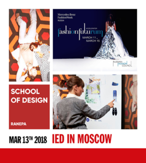 IED in Moscow at Mercedes Benz Fashion Week