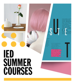 IED and Accademia Aldo Galli 2021 Summer courses