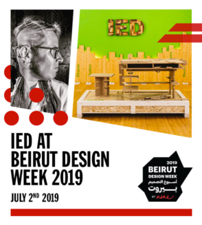 IED at Beirut Design Week 2019
