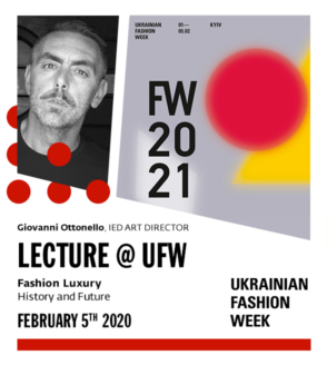 IED lecture at the Ukrainian Fashion Week