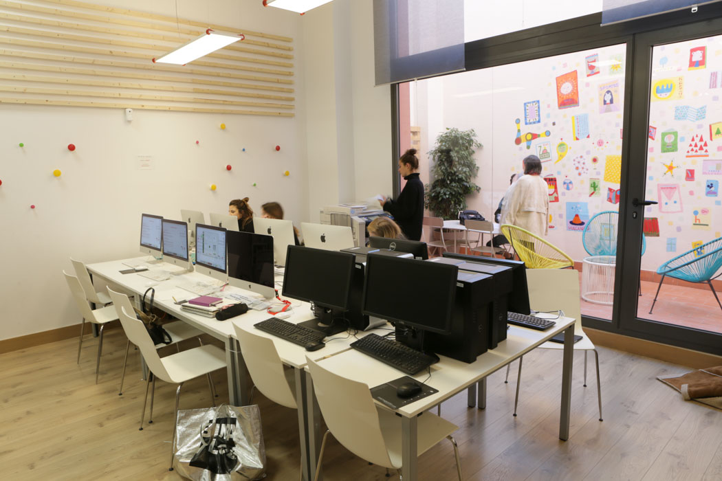 Library IED Barcelona