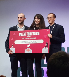IED COMMUNICATION AND PRODUCT DESIGN STUDENTS TRIUMPH AT TALENT FOR FRANCE 2020