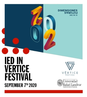"""IED in Guatemala Design at the Cultural Festival """"Vértice""""."""
