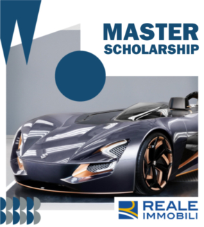 MASTER IN TRANSPORTATION DESIGN SCHOLARSHIP FUNDED BY REALE IMMOBILI A.Y. 2021/22